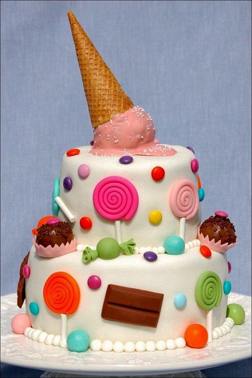 Lollipops Girls Birthday Cake