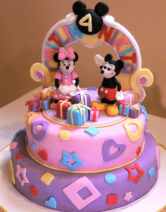 Mickey Mouse Gifts Birthday Cake Happy Birthday Cakes In Lahore