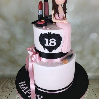 Makeup Cakes , Cake City , Mac makeup cakes in Lahore