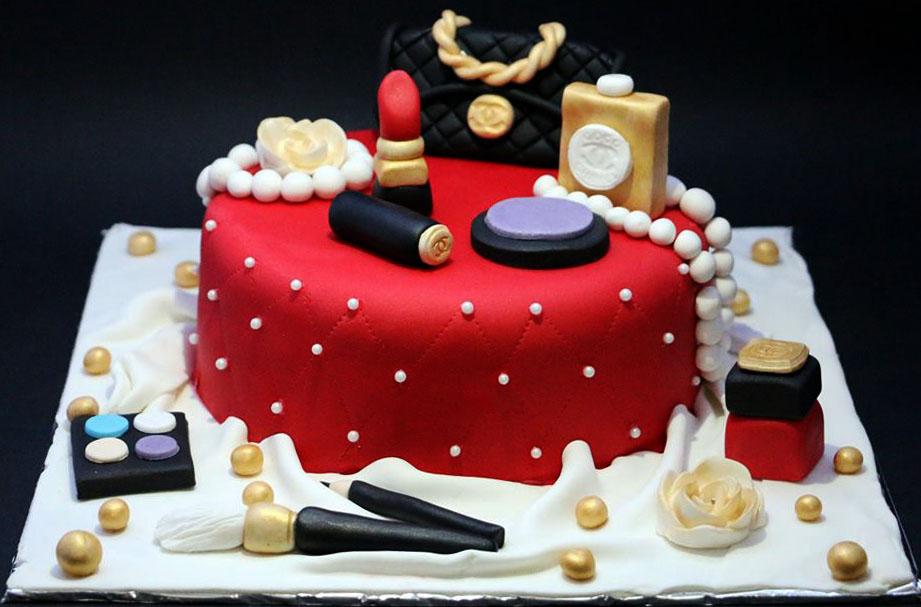 Pictures Of Makeup Cakes | Saubhaya Makeup